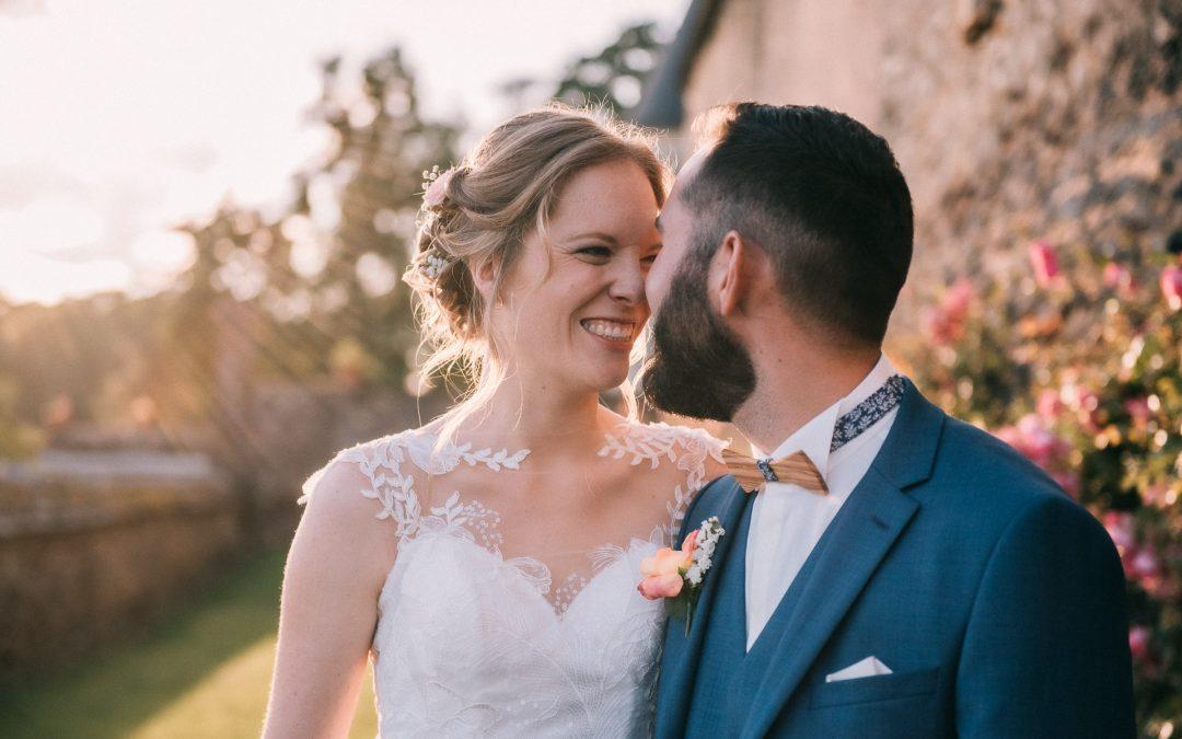 Elodie et Yoann, un mariage plein d'émotion au Chateau de Beau jeu.